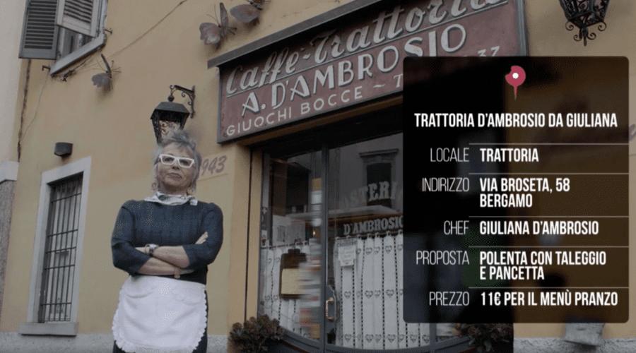 food advisor trattoria d'ambrosio con giuliana